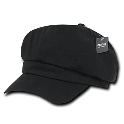 5e83674e Amazon.com: DECKY Apple Jack Hat, Black, Small/Medium: Sports & Outdoors