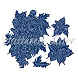 Tattered Lace Essentials - Charisma Poinsettia + CD-ROM D895