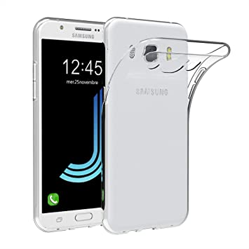 AICEK Funda Compatible Samsung Galaxy J5 2016, Transparente ...