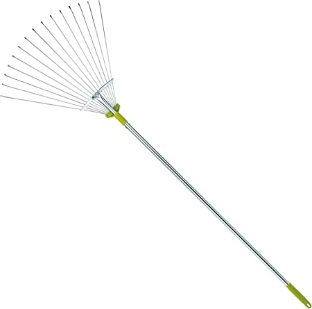 Gardenite Adjustable Garden Leaf Rake - Best Pick