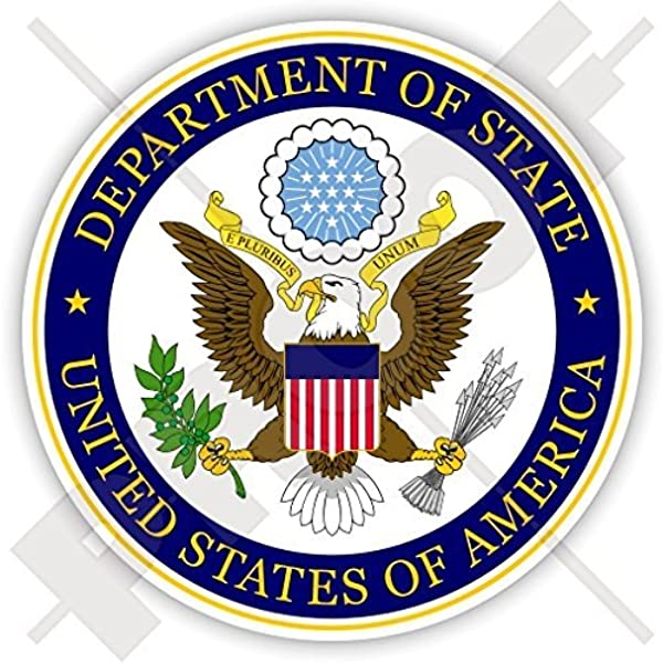 Amazon Com Us Department Of State Seal Usa United States Of