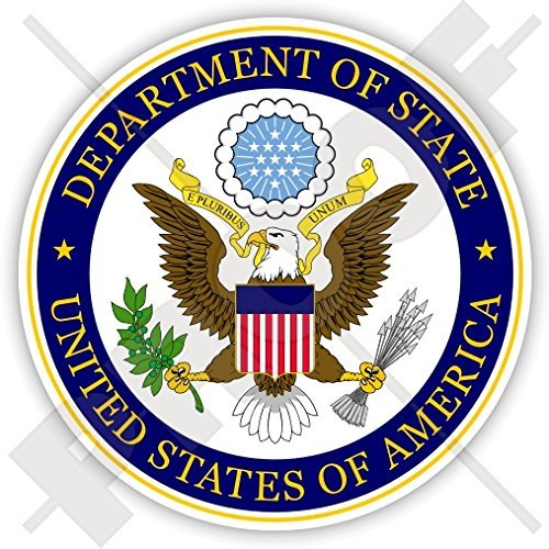 US DEPARTMENT OF STATE Seal USA United States of America DOS American 90mm (3.5