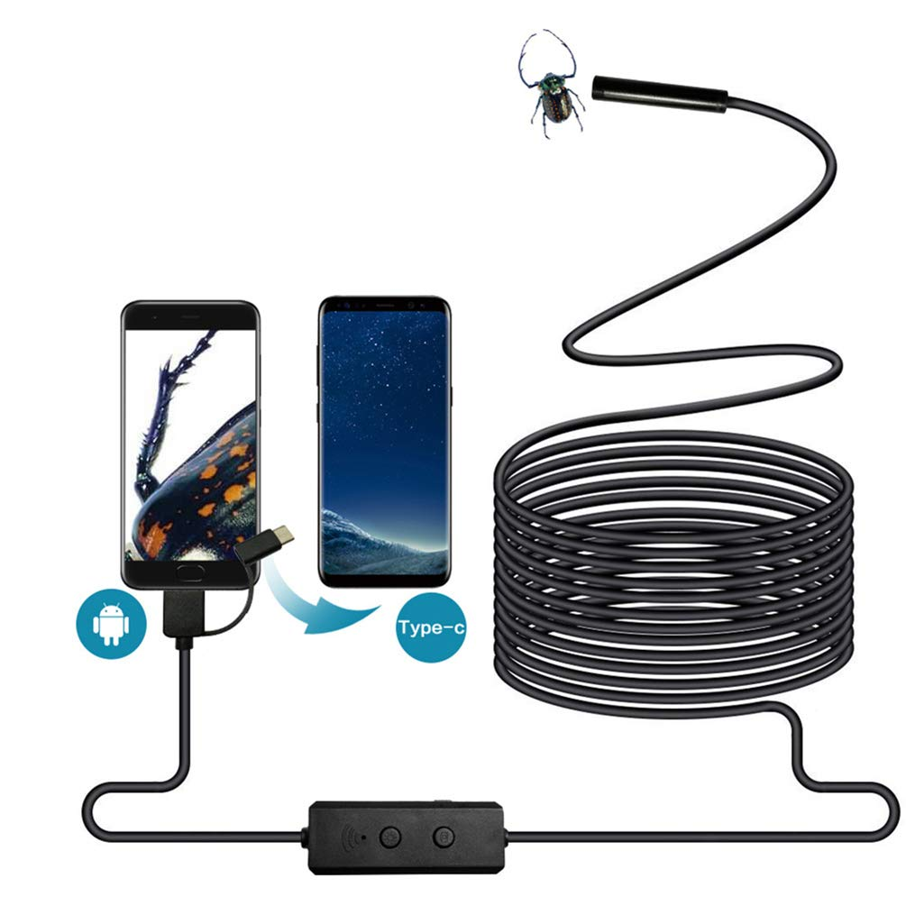 5m Auto Repair Pipe Three-in-One 720P HD Pixel for Industrial Mobile Phone - 5m by VoguSaNa (Image #8)