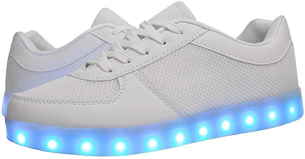 dongchun Mens /& Womens Led Light Up Walking Shoes USB Charging LED Shoes Flashing Sneakers