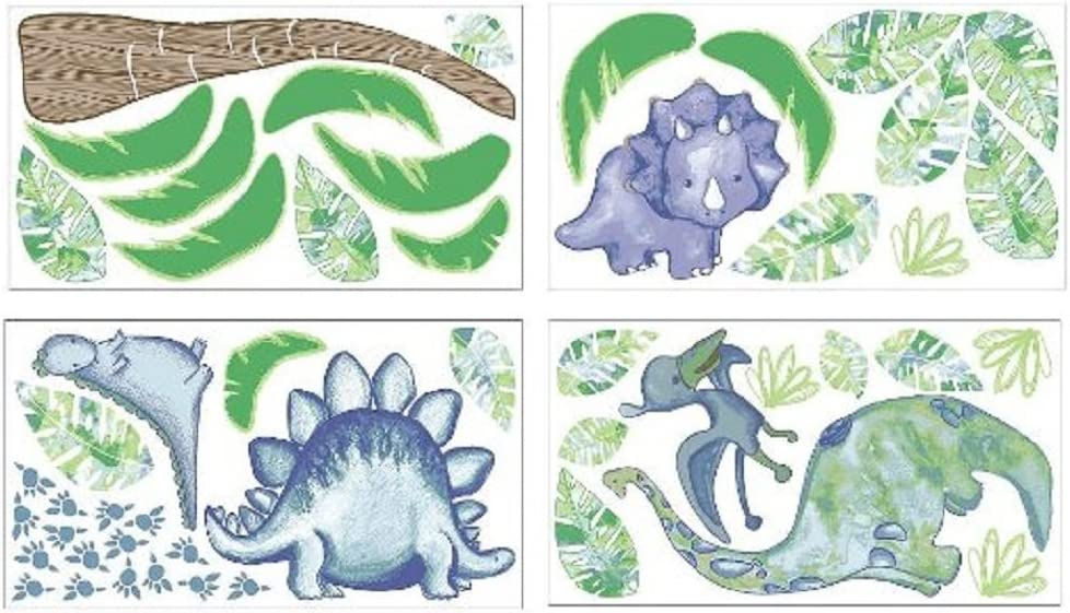 Truly Scrumptious Dinosaur Tracks Nursery Bedding Collection (Wall Decals)