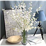 HuanhuaTC-8pcs-Artificial-Orchids-Realistic-Fake-Flowers-Arrangement-for-Home-Party-and-Wedding-Decor-White