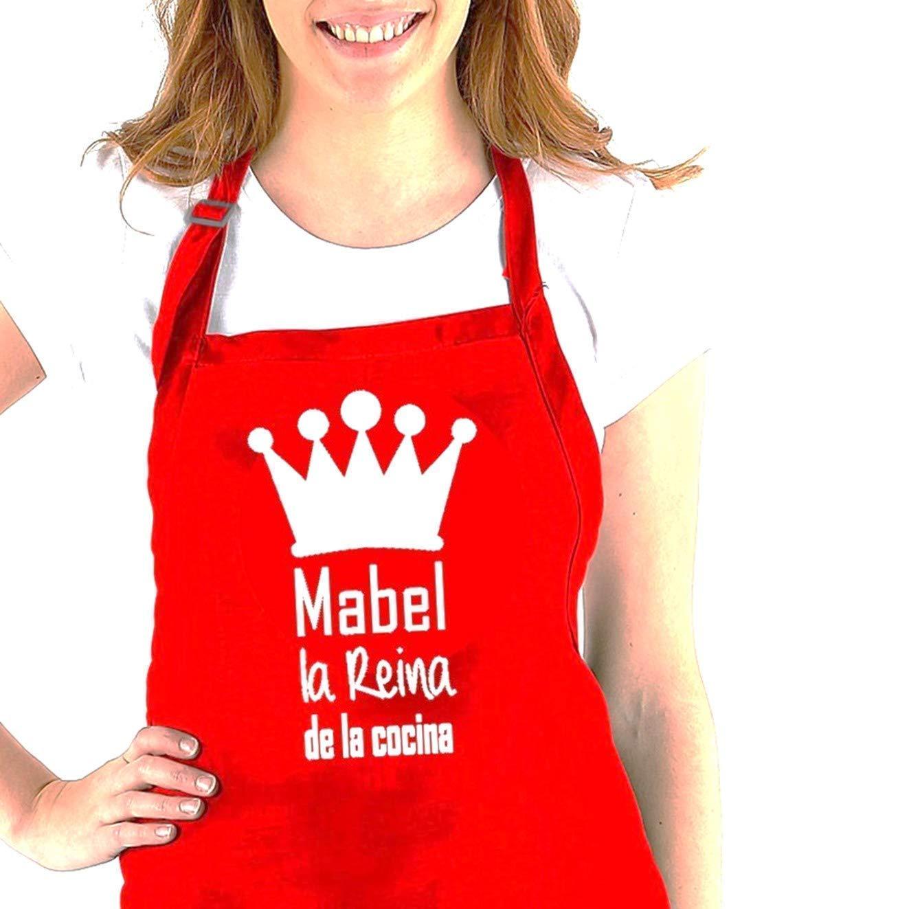 Delantal cocina personalizado con la frase:
