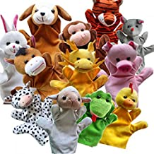 Zorvo Funny Hand Puppets Finger puppets Cute Animal For Kids Plush Hand Puppets For Cartoon Hand Puppets For Children toy