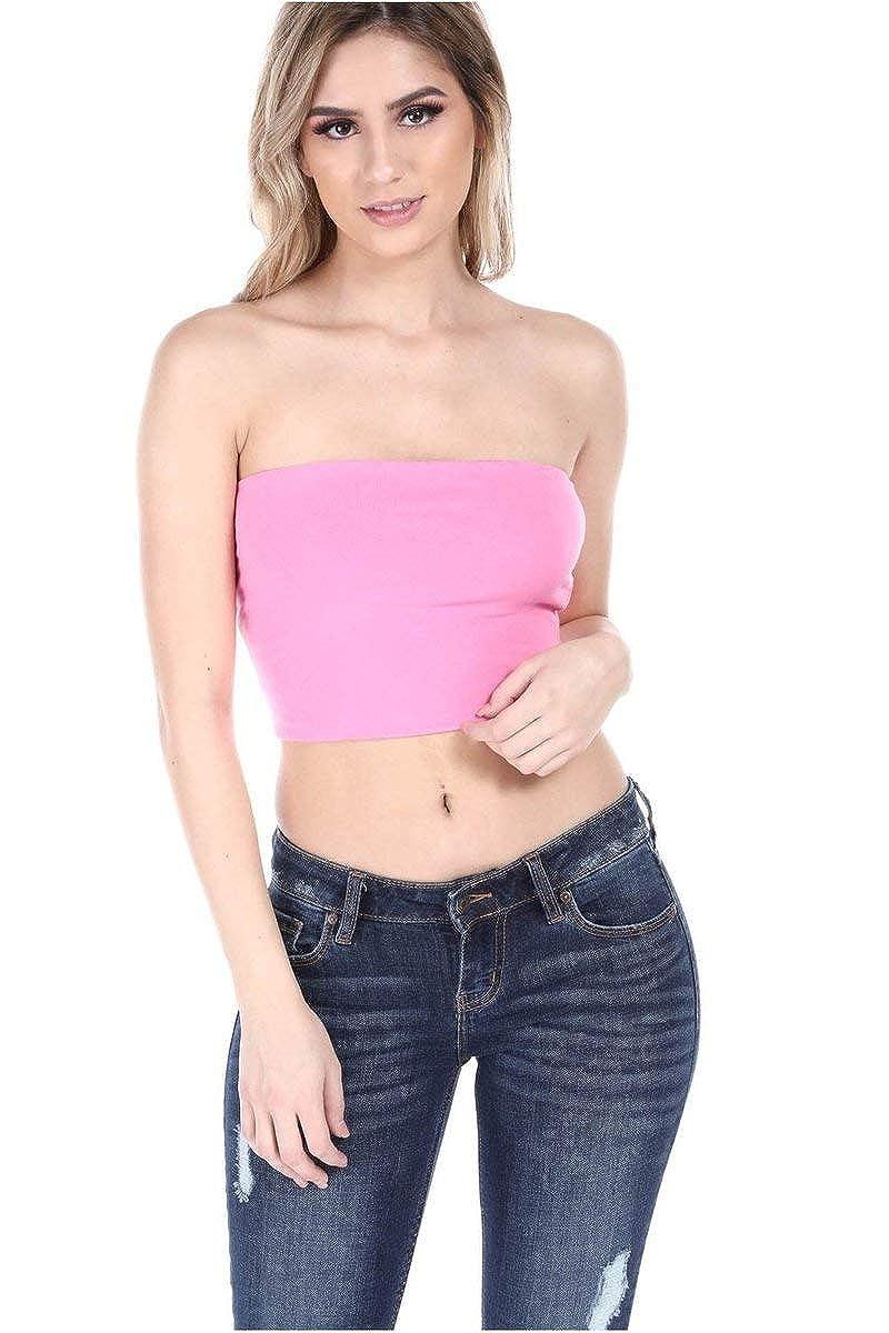 844424c7f6 Salt tree womens basic thick strapless cotton tube top at amazon womens  clothing store jpg 800x1200