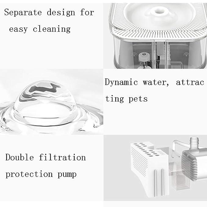 Dispensador termostático de agua para mascotas, circulación ...