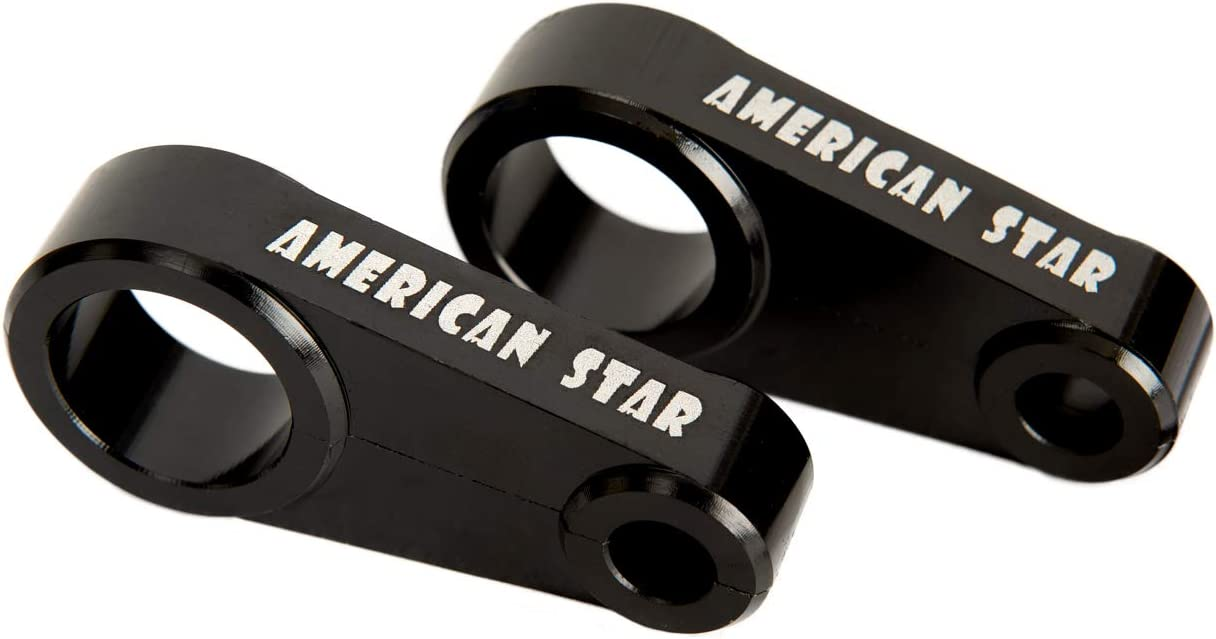 American Star 3//4 Inch Billet Aluminum Brake Line Clamp for Almost ALL Stock ATV A-Arms