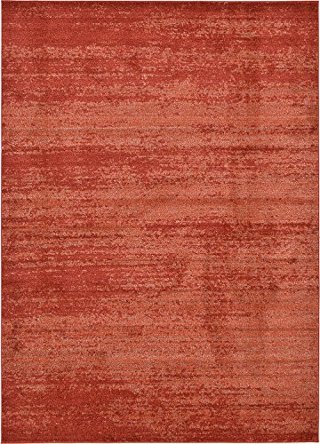 - Over-dyed Modern Vintage Rugs Terracotta 8' x 11' 4 FT Palma Collection Area Rug - Perfect for any Place