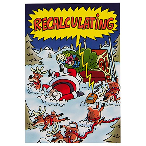 Old Glory - Recalculating Christmas Card (Old Glory Stationery)