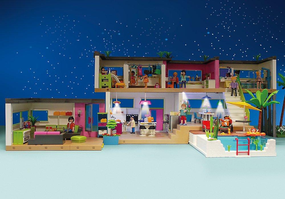 Feux Ampoules Et Clignotants Kit Declairage Pour Maison Moderne 5574 Playmobil 6354 City Life Auto Et Moto Hotelaomori Co Jp