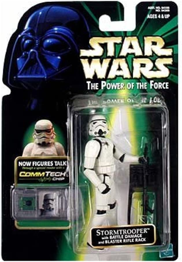 Star Wars Power of the Force Comm Tech Stormtrooper Action Figure