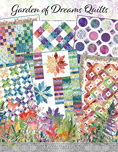 In The Beginning Fabrics ITBJYLBK Garden of Dreams Quilts Book, None