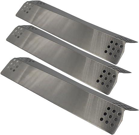 Amazon.com: bbqration Pack de 3 acero inoxidable calor Placa ...