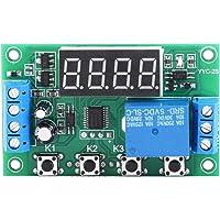 Temporizador Relé Ajustable Automatización Interruptor de control Módulo