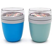 Mepal 'Ellipse' Lunchpot to go 500 ml & 200 ml