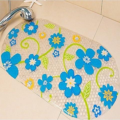 CLG-FLY Lovely room king size plastic bath mat wear-resistant anti-slip mats-bathroom shower mats bathroom mats,39x71cm (6