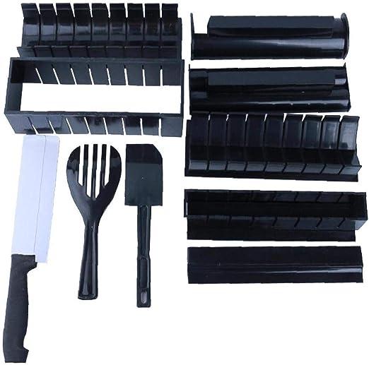 BRAVOLUNE Que Hace El Kit Sushi con Cuchillo Plástico DIY Set De ...