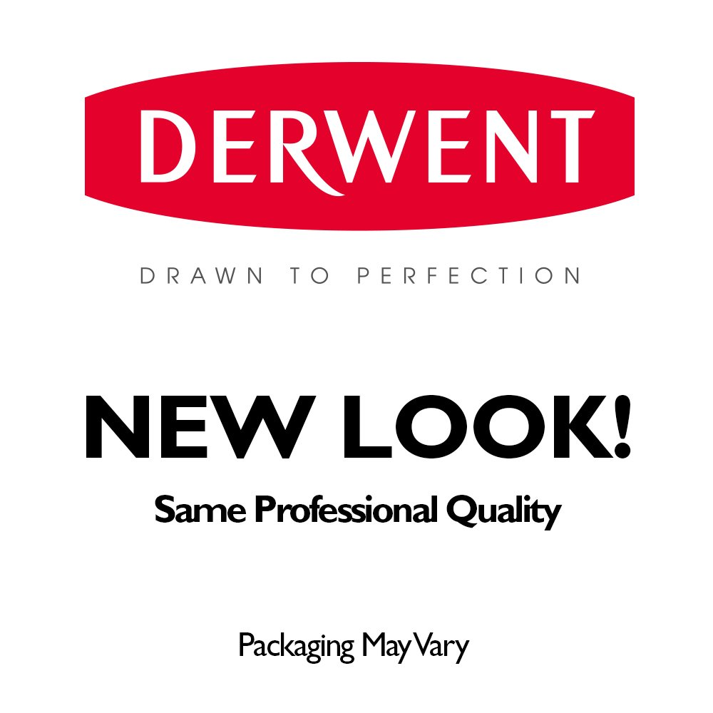 Derwent Tinted Charcoal Pencils, 4mm Core, Metal Tin, 24 Count (2301691) by Derwent (Image #6)