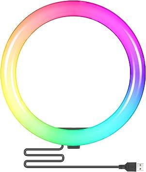 Todo para el streamer: Neewer Anillo de Luz RGB 10