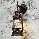 Retro Wall Lamp Vintage Glass Lamps Beside Light For Bar Coffee Shop Bathroom Home Led Lights