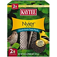 Kaytee Finch Sock Feeder Twin Pack, 26oz