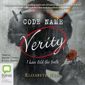 Audiobook Image Code Name Verity