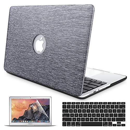B Belk MacBook Air 13 케이스, 2 in 1 Bling Crystal Smooth..