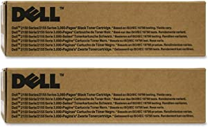 Dell N51XP Toner Cartridge - Black - 2 Pack in Retail Packing