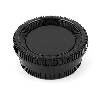 De plástico de color negro cámara Tapa de cuerpo + trasera de ...