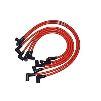 Nuevo SPARK PLUG Cable de alambre 10,2 mm compatible con Chevy Camaro V6 FIREBIRD 3,8 litros V6 1995 - 1999: Amazon.es: Coche y moto