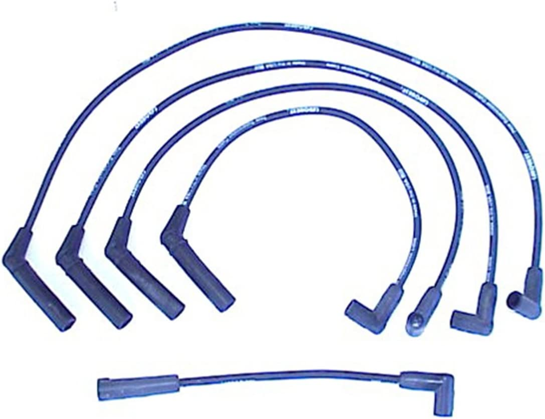 Accel 118043 ProConnect OEM Replacement 45 Degree Angle Boot Black Spark Plug Wires 9pc Set