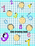 Kids Drawing Book: Children's Extra Large Unlined Plain Blank Paper Notebook Journal For Doodling Sketching Scribbling Writing and More (Kids Blank Collection)