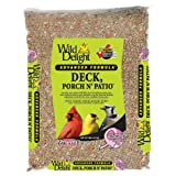 Wild Delight 374050 Advanced Formula Deck Porch N Patio Seed, 5 Pounds, My Pet Supplies