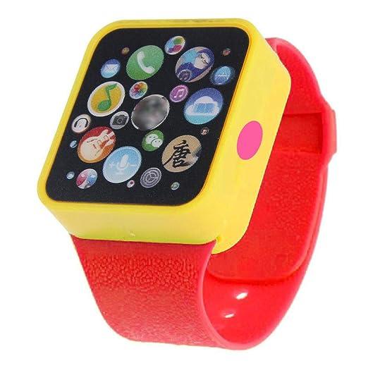 Riklos Niños Educativos Aprendizaje temprano Relojes Juegos de Juguete Reloj de Pulsera para niños pequeños Regalo de cumpleaños: Amazon.es: Relojes