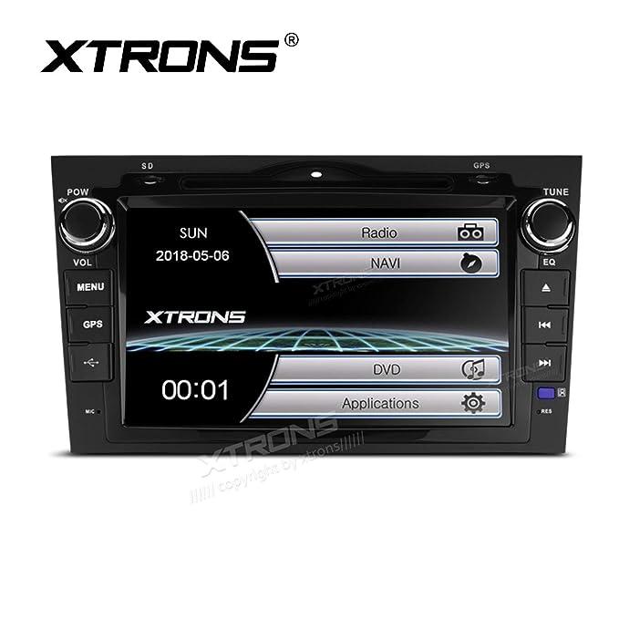 """XTRONS® 8"""" HD Pantalla táctil Coche estéreo Reproductor de DVD con GPS Navegador Bluetooth"""