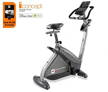 bh fitness carbon bike dual bicycle cycle cardio fitness gym workout