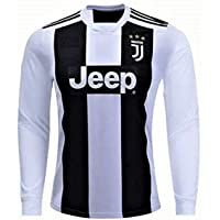 HeadTurners Non-Branded Football Cristiano Ronaldo Juventus Full Sleeves Jersey (No Shorts) for Kids, Boys & Mens