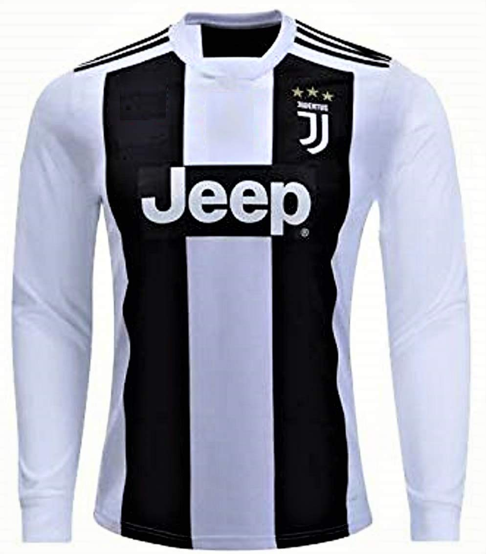 quality design 42e42 a9b1a HeadTurners Non-Branded Football Cristiano Ronaldo Juventus Full Sleeves  Jersey (No Shorts) for Kids, Boys & Mens