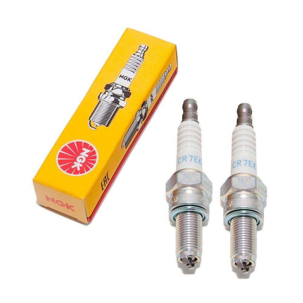 Juego de bujías ngk - 2 x cr7ekb para Aprilia Smv/SL/NA/SRV: Amazon.es: Coche y moto