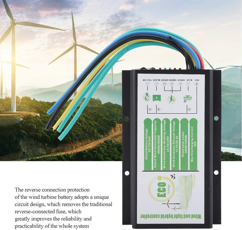 DC 12V//24V 1000W Battery Charge Controller Regulator For Wind Turbine