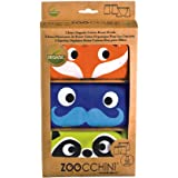 Zoocchini Kids and Toddlers Organic Cotton Boys 3 Piece Boxer Set, 2 to 6 Years, Fun Colorful Animal Theme