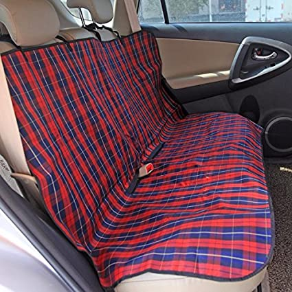 Pet Supplies Classic Plaid Dog Carriers Car Seat Cover Durable Puppy Cats Blanket Hammock