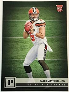2018 Panini NFL Football #308 Baker Mayfield Cleveland Browns RC Rookie Card