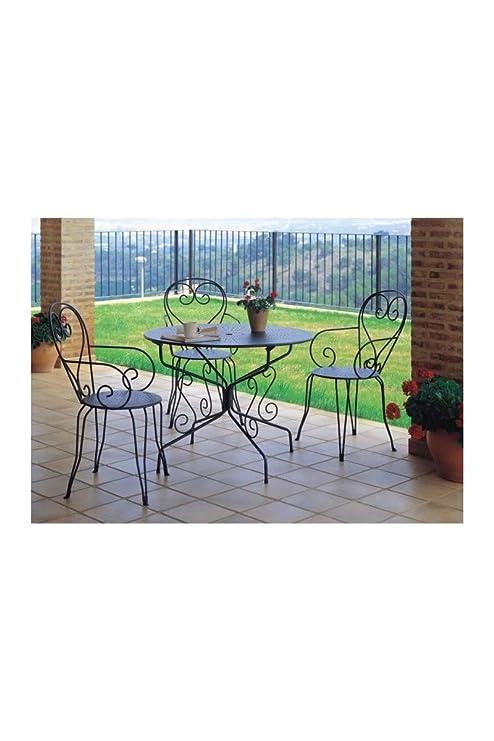 Aucune Lote de 4 sillones de jardín romántico apilable en ...