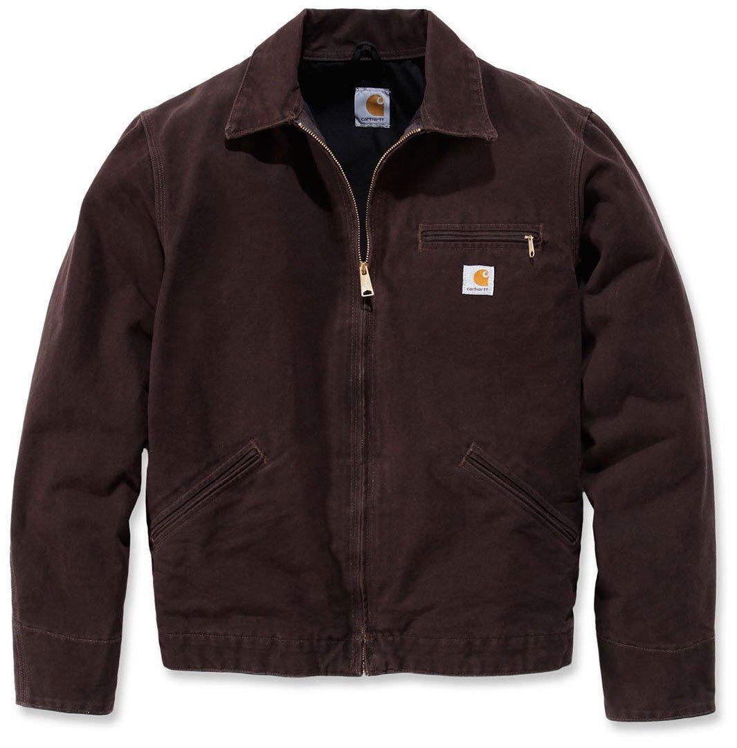 Dark Brown Carhartt .EJ196.DKB.S008 Lightweight Detroit Jacket XX-Large