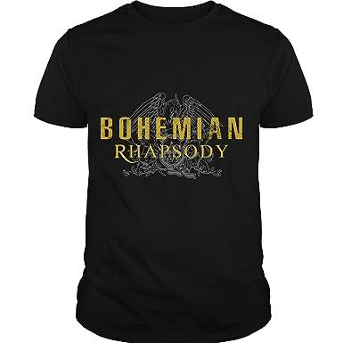fba84881491c Amazon.com: Queen - Band T Shirt, Bohemian Rhapsody T Shirt, Freddie  Mercury Shirt, Queen -British Rock Band: Clothing